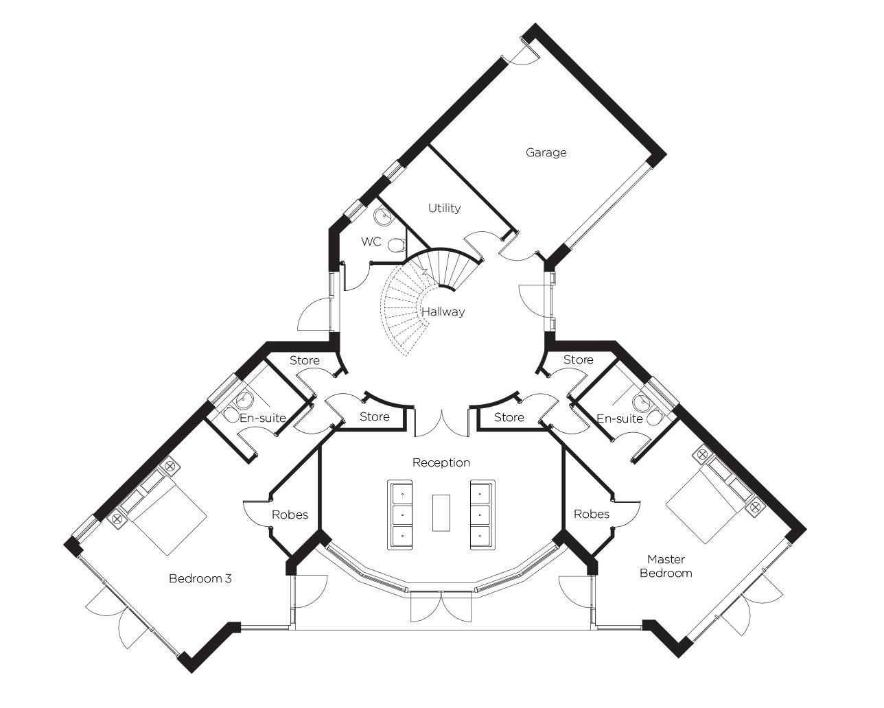 Plot 4 - Ground Floor